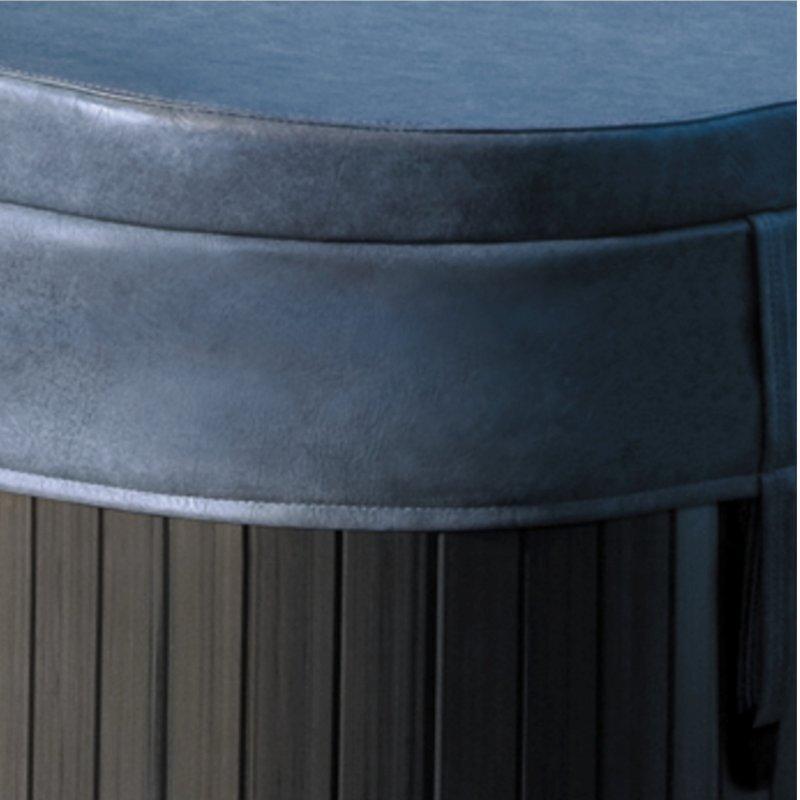 Couverture j-355 - j-365 grise silverwood